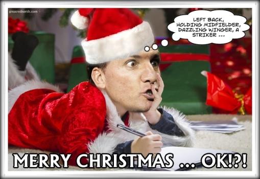 Brendan Rodgers Santa Merry Christmas Liverpool FC