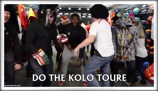 Kolo Toure Warrior Chant Do The Kolo Toure Dance