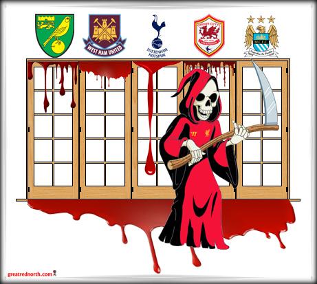 LFC Liverpool FC Grim Reaper