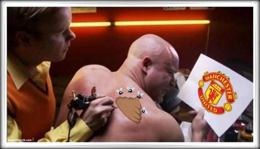 Manchester Utd. tattoo