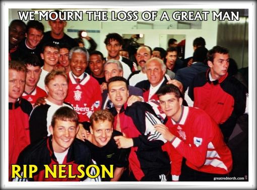 RIP Nelson Mandela Liverpool FC #LFC