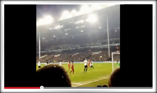 Flanagan Goal v.  Spurs - Spurs 0-5 Liverpool video GreadRedNorth.com