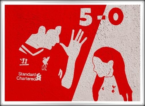 Luis Suarez 5-0 Spurs Tottenham little girl handshake