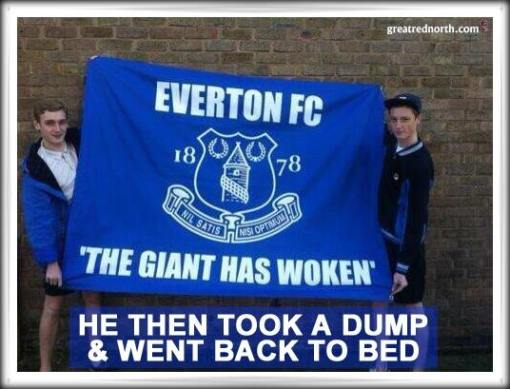 Everton Sleeping Giant Woken Up