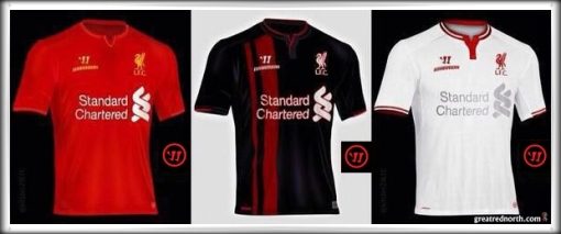 sale retailer 926ab f1af4 Leaked Liverpool FC 2014-2015 Kits? | great red north ...