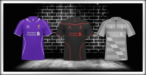 LFC Warrior Shirt Goalie Goalkeeper Keeper Kit 2014-2015