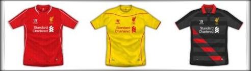 LFC Kits 2014-15