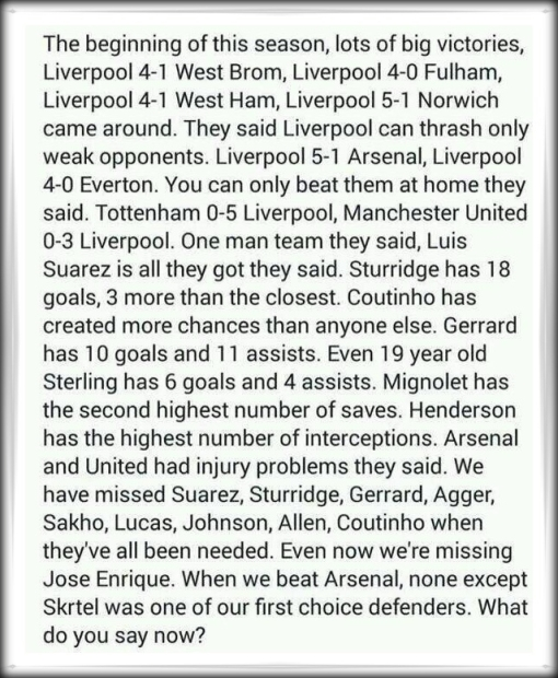 LFC Letter 2014