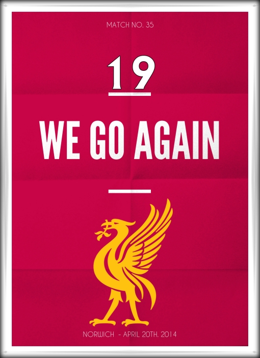 Liverpool FC Norwich We Go Again