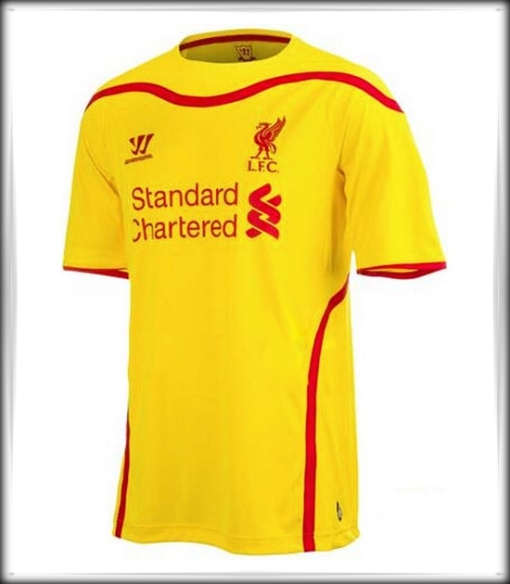 Liverpool FC New Away Kit 2014 -2015