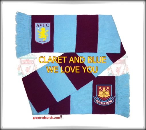 Claret and Blue West Ham Aston Villa beat Manchester City
