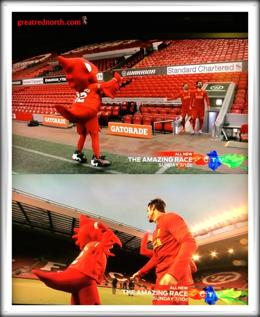 Liverpool FC The Amazing Race Anfield