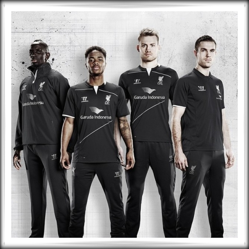 Liverpool FC Garuda Indonesia Training Gear 2014