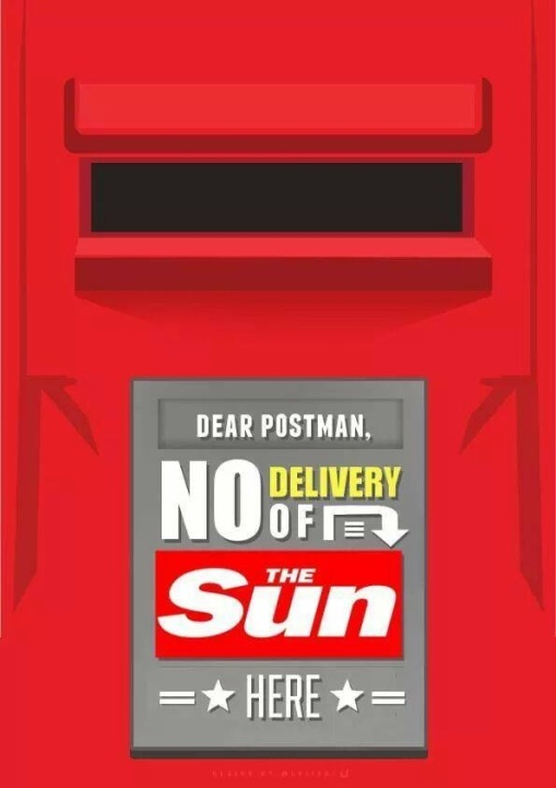 No Delivery Of The Sun Postie Postman JFT96