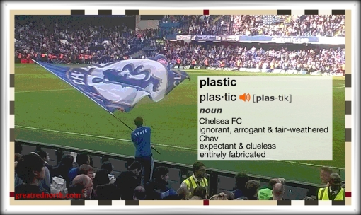 Plazzy Chavs Plastic Chelsea FC