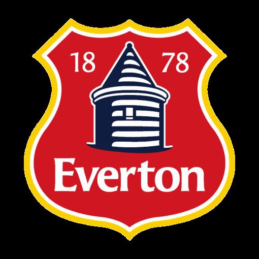 Red Everton Crest Badge Logo