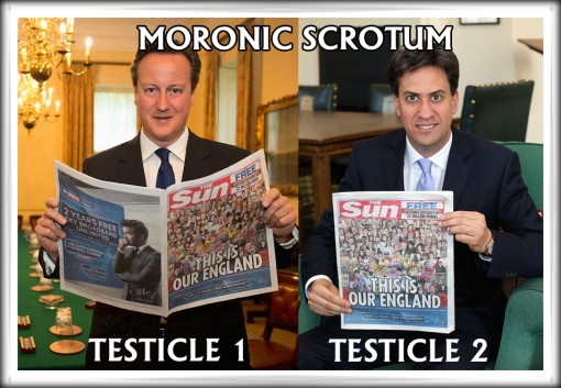David Cameron Ed Milliband The Sun This Is Our England