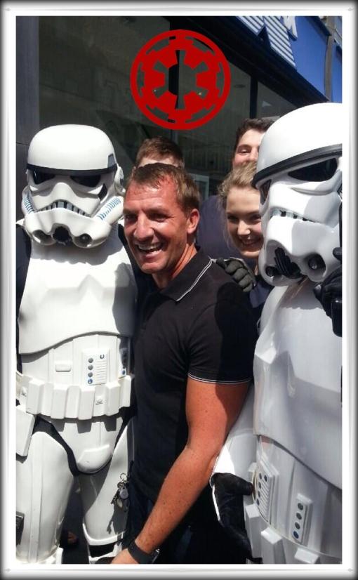 Brendan Rodgers Stormtroopers Star Wars
