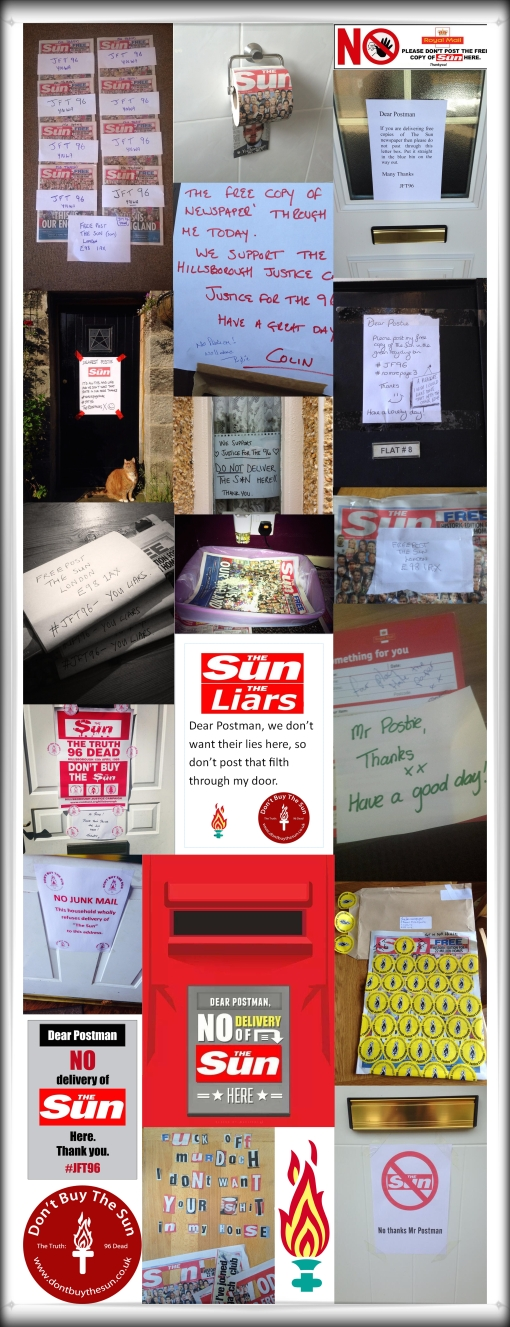 The Truth The Sun Royal Mail Don't Buy The Sun Postman Postie No Delivery