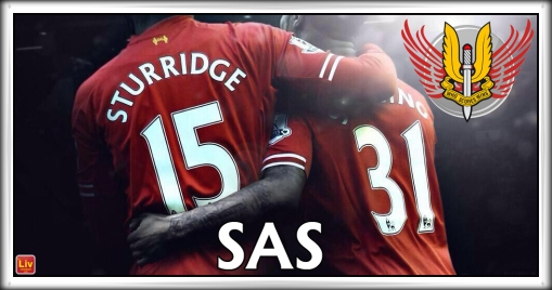 The SAS Liverpool FC Sturridge Sterling