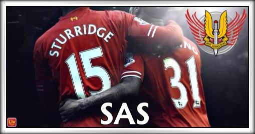 The SAS Liverpool FC Sturridge Sterling
