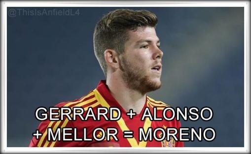 Moreno Liverpool FC