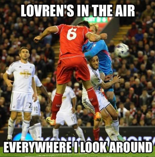 Lovren's In The Air